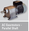AC Gearmotors - Parallel Shaft